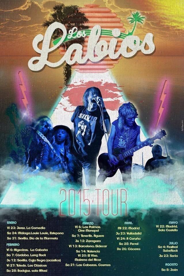 Besos rockeros: Los Labios y Sweetkiss Momma en Louie Louie
