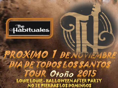 the habituales cartel halloween