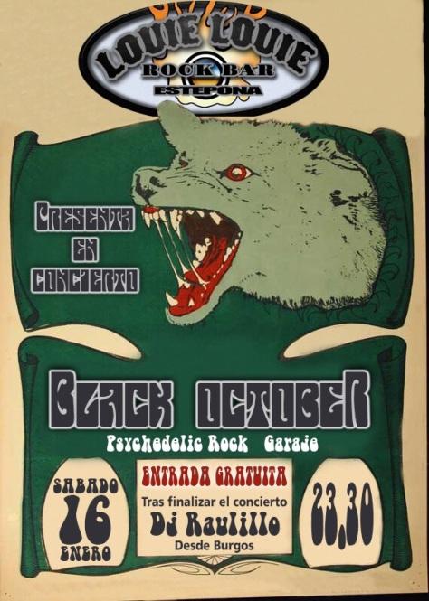 cartel black october