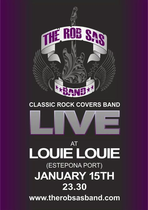 Rob sas band live