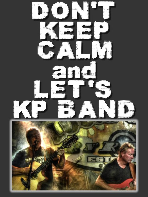 keep calm kp band