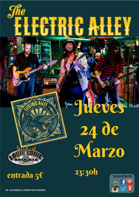 The Electric Alley jueves 24
