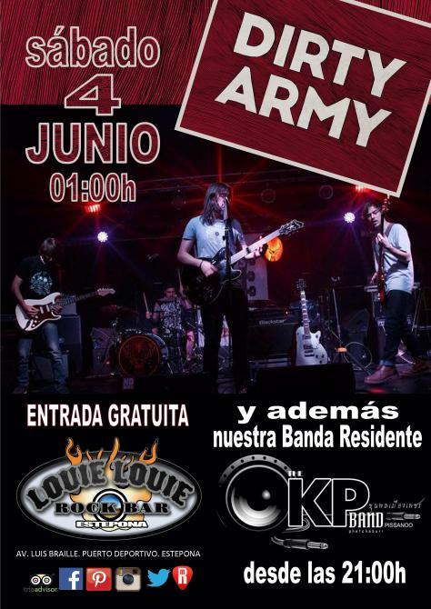 Dirty Army + KP Band