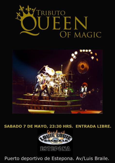 Queen tribute mayo 2016