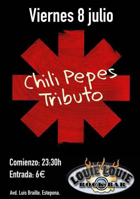 Chilli pepes 8 Julio