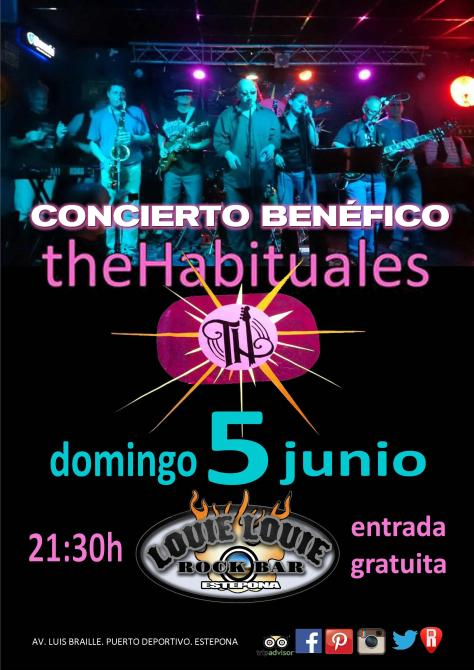 The Habituales concierto benefico