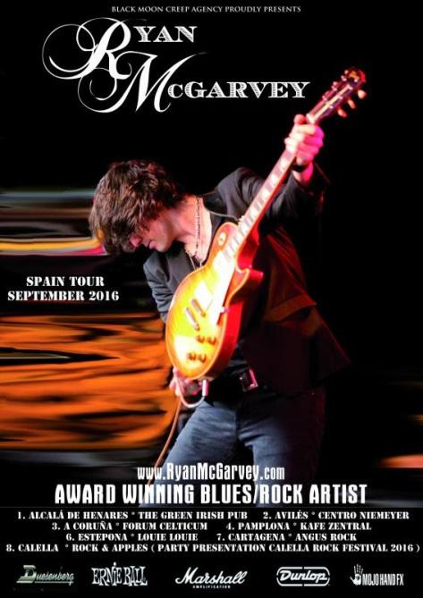 Ryan McGarvey gira