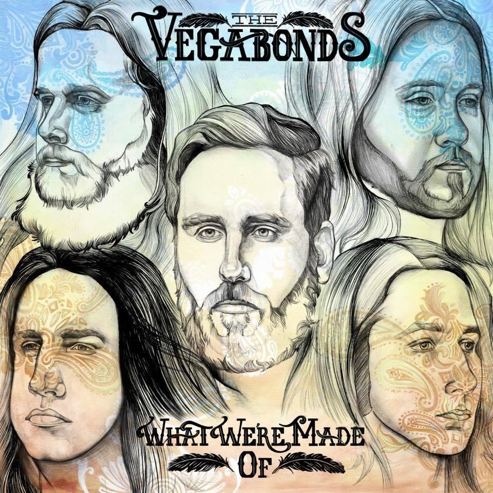Cartel anunciando el concierto de The Vegabonds